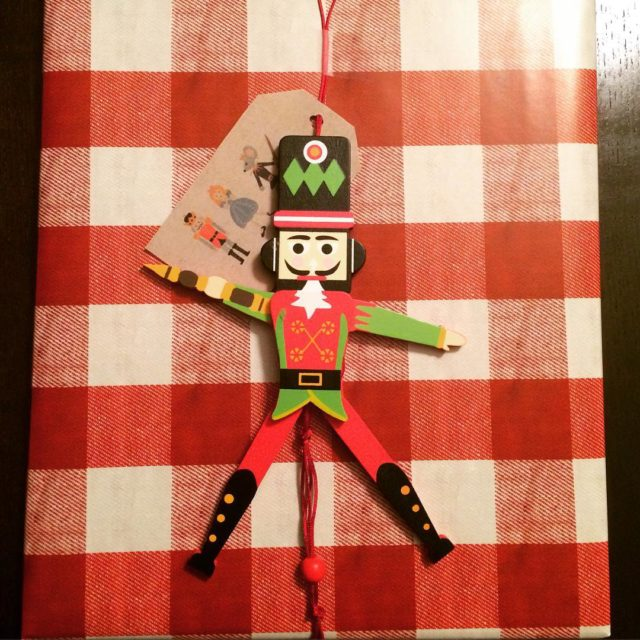 More Christmas packaging fun with my little nutcracker friend Cutesthellip
